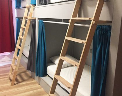 DORMITORY | 4 BUNK BEDS